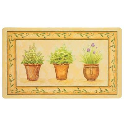 Potted Herb Garden 18 in. x 30 in. Comfort Mat