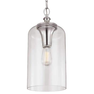 Hounslow 1-Light Polished Nickel Pendant
