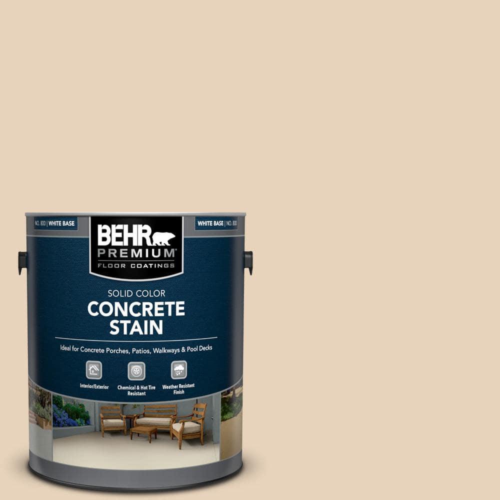 BEHR PREMIUM 1 gal. #PFC-11 Inviting Veranda Solid Color Flat Interior/Exterior Concrete Stain