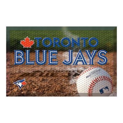 MLB - Toronto Blue Jays 19 in. x 30 in. Indoor/Outdoor Scraper Mat Door Mat