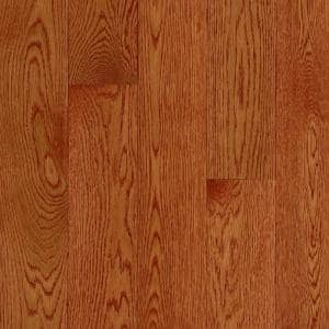 American Originals Ginger Snap Oak 3/4 in. T x 5 in. W x Varying L Solid Hardwood Flooring (23.5 sq. ft. /case)