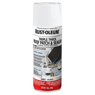 13 oz. White Triple Thick Roof Patch & Sealer (6 Pack)