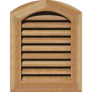 27'' x 35'' Diamond Rough Sawn Western Red Cedar Wood Paintable Gable Louver Vent Functional