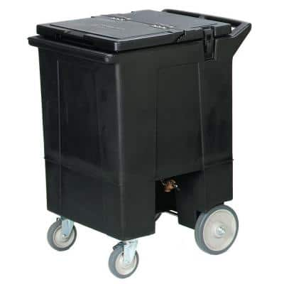 125 lb. 36.5 in. High Ice Caddy in Black