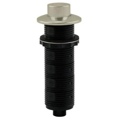 Replacement Raised Button Disposal Air Switch Trim in Stainless Steel