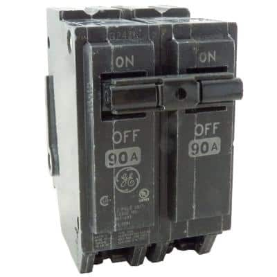 Q-Line 90 Amp 2 in. Double Pole Circuit Breaker