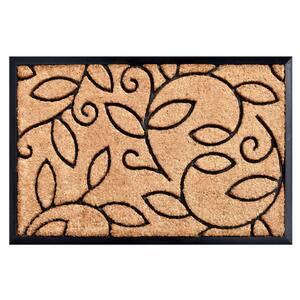 Vine Leaves Doormat 24 in. x 36 in.