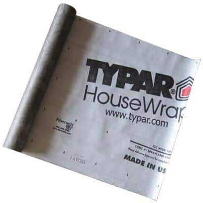 9 ft. x 150 ft. Housewrap Roll