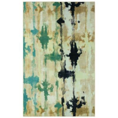 Vorma Natural 9 ft. x 12 ft. Abstract Area Rug