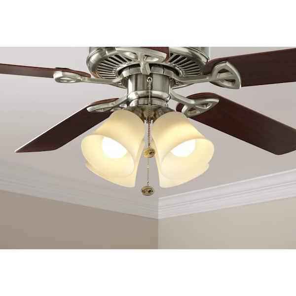 Reviews For Hampton Bay Williamson Led Universal Ceiling Fan Light Kit 64401 The Home Depot