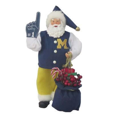 12 in. Michigan #1 Santa