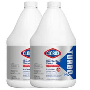 Turbo 121 oz. Bleach-Free Disinfectant Cleaner for Sprayer Devices (2-Pack)