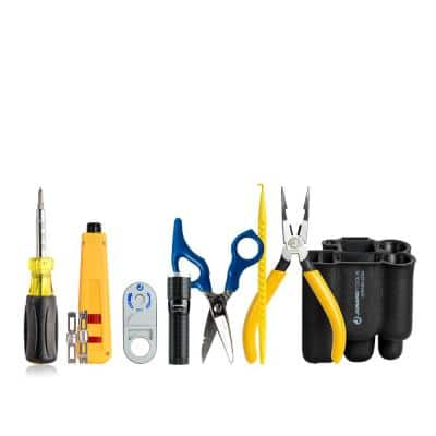 Punch Down Tool Kit (8-Pieces Set)