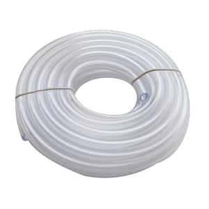 3/8 in. O.D. x 1/4 in. I.D. x 20 ft. Clear PVC Vinyl Tube