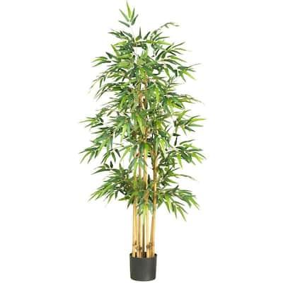64 in. Bamboo Silk Tree