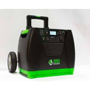 3600-Watt Electric Start Solar Powered Portable Generator