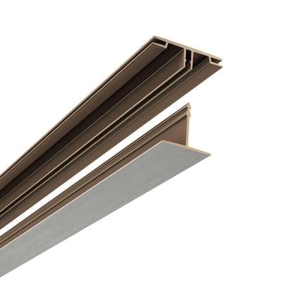 100 sq. ft. Ceiling Grid Kit Brushed Nickel