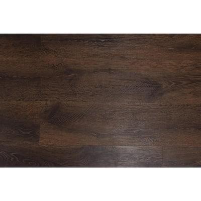 Romulus Deep Espresso 9 in. W x 60 in. L WPC Vinyl Plank Flooring (30.14 sq. ft.)