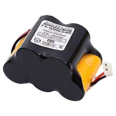 Dantona 6-Volt 4000 mAh Ni-Cd battery for DC Battery - 1599 Emergency Lighting
