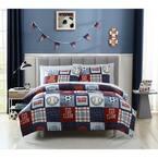2-Piece Sports Fan Twin Comforter Set