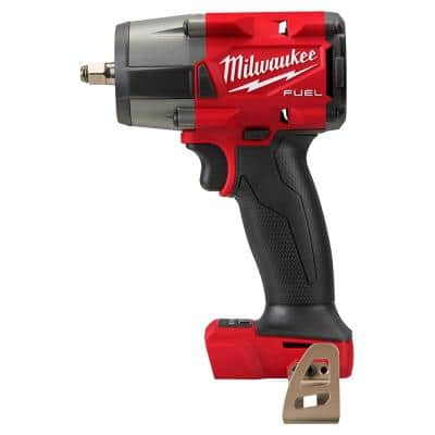 M18 FUEL GEN-2 18-Volt Lithium-Ion Mid Torque Brushless Cordless 3/8 in. Impact Wrench with Friction Ring (Tool-Only)
