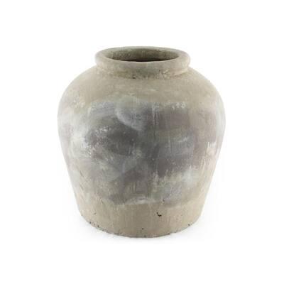 Terracotta Olive Brown Small Decorative Vase
