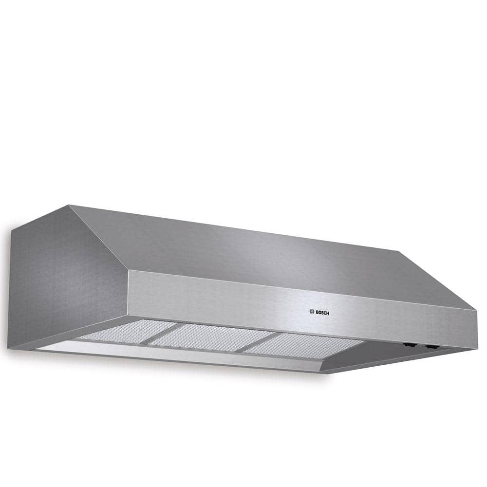Bosch 800 Series 36 In Undercabinet Range Hood With Lights In Stainless Steel Dph36652uc The Home Depot