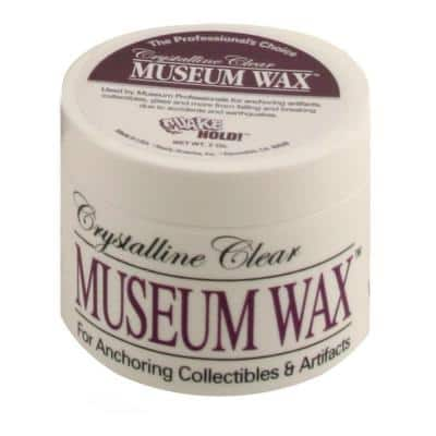 Crystalline Clear Museum Wax -2 oz