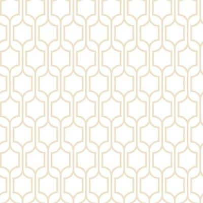 Bistro 750 Trellis Strippable Roll Wallpaper (Covers 56 sq. ft.)