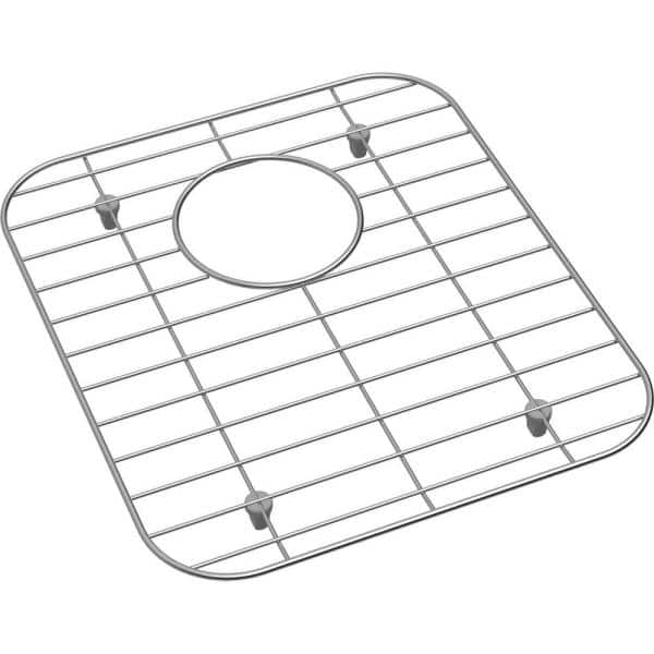 Elkay Dayton 12 125 In X 13 9375 In Bottom Grid For Kitchen Sink In Stainless Steel Gobg1415ss The Home Depot