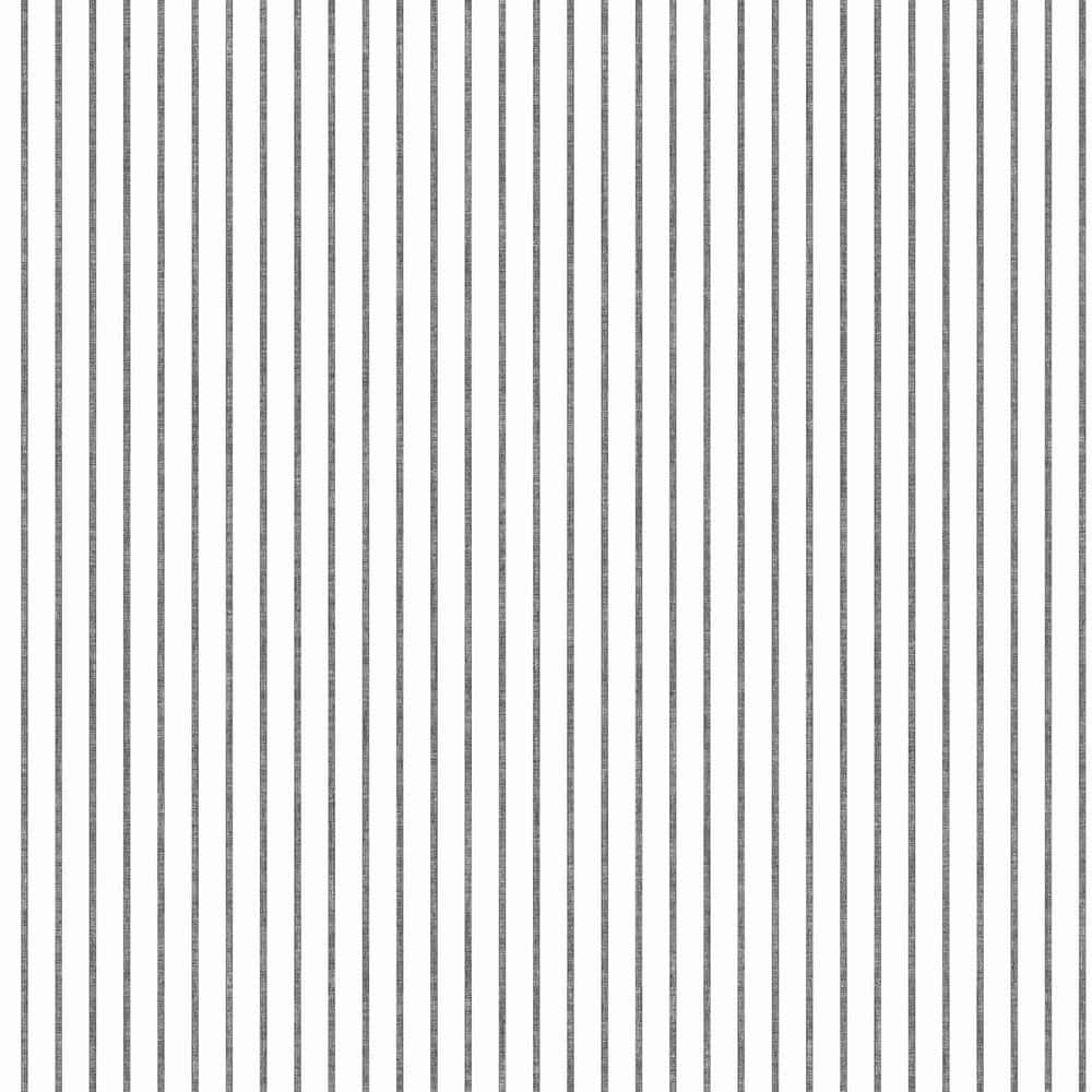 York Wallcoverings Ticking Stripe Spray And Stick Wallpaper Covers 56 Sq Ft Ki0602 The Home Depot