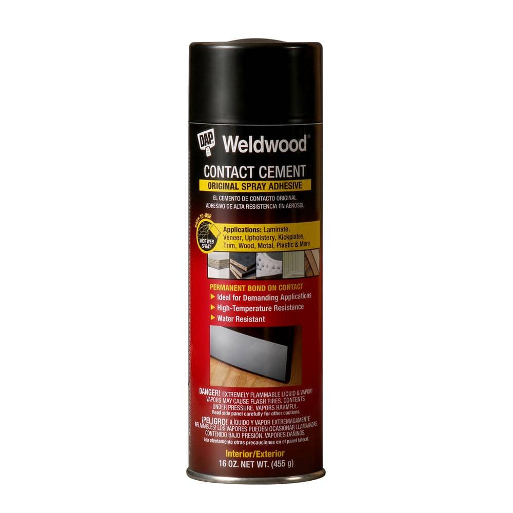 Dap Weldwood 16 Oz Contact Cement, Contact Cement Laminate Flooring