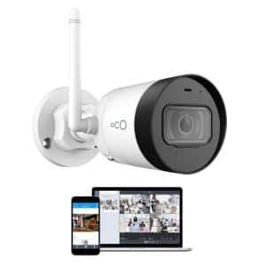 Pro Bullet Outdoor/Indoor 1080p Cloud and Security Wireless Standard Surveillance Camera with Remote Viewing