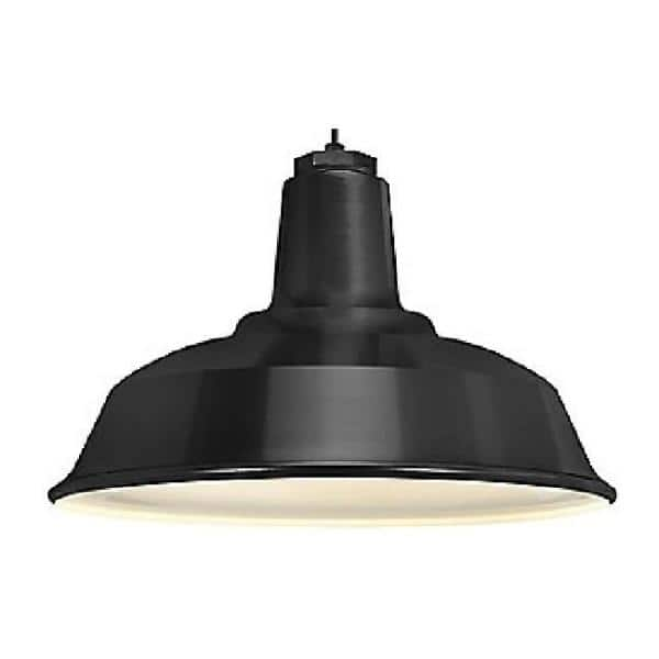 Troy RLM 5DRS16MBK-BC Ezra Standard Outdoor Pendant-Black
