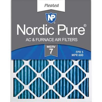 16 x 30 x 1 Basic Dust Pleated MERV 7 - FPR 5 Air Filter (6-Pack)