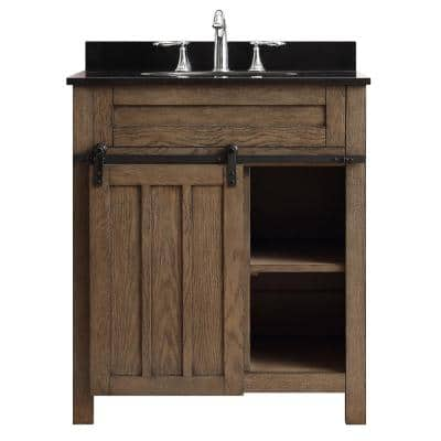 30 Inch Vanities Industrial Bathroom Vanities Bath The Home Depot
