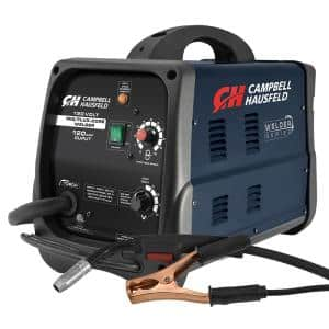 MIG/Flux Core Welder 120 Amp Output Wire Feed with Accessories