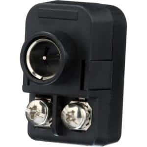 F-Plug Antenna-to-Coaxial Transformer