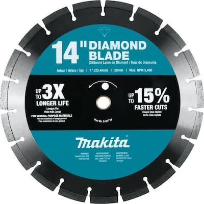 14 in. Diamond Blade, Segmented, General Purpose