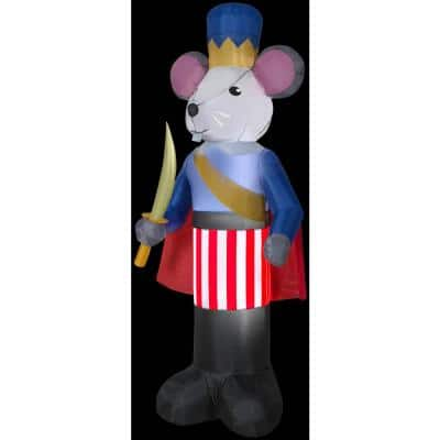 7 ft. Inflatable Christmas Nutcracker Mouse King