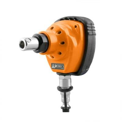 Pneumatic Mini Palm Nailer with Cushion Hand Grip and Magnetic Tip