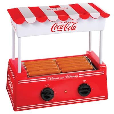 Coca-Cola Electric Hot Dog Roller and Bun Warmer