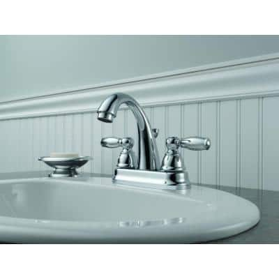 Claymore 4 in. Centerset 2-Handle Bathroom Faucet in Chrome
