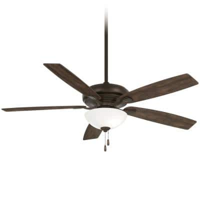Watt II 60 in. Integrated LED Indoor Oil Rubbed Bronze Ceiling Fan with Light Kit