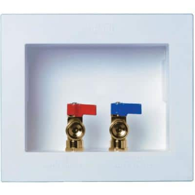 DU All Washer Dual Drain Outlet Box