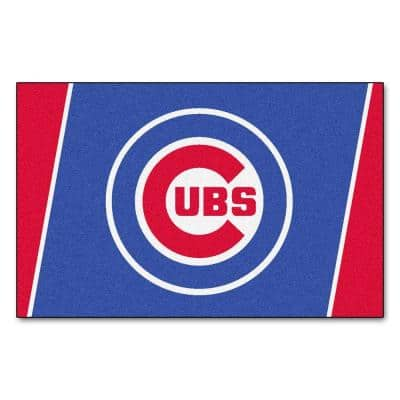 Chicago Cubs 4 ft. x 6 ft. Area Rug
