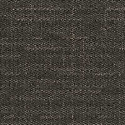 Builder Black 24 in. x 24 in. Carpet Tile (8 syds. case/carton - 18 Tiles case/carton)