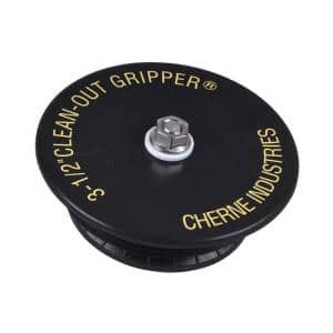 Gripper 3-1/2 in. ABS Mechanical Cleanout Plug