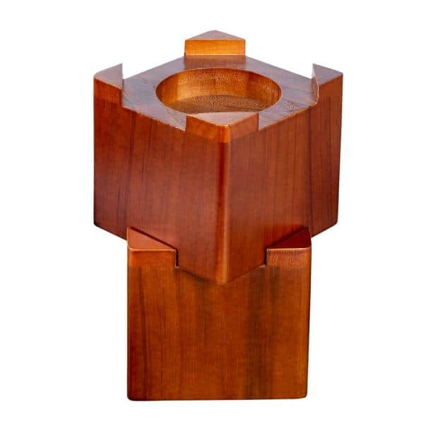 Honey Can Do Maple Square Wood Bed, Wood Risers For Furniture