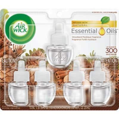 Plug In 0.67 oz. Woodland Mystique Scented Oil Refill (5-Pack)